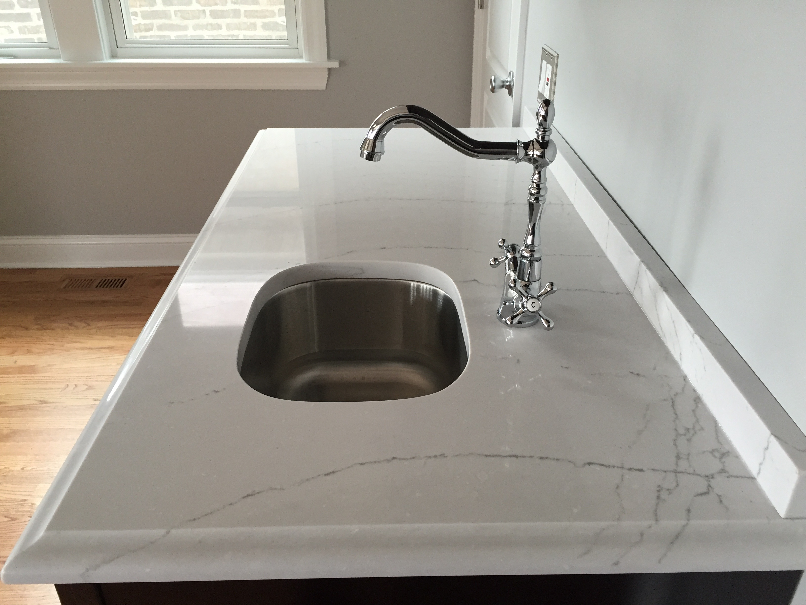 Cambria Ella Quartz In Chicago Il Stonetek Design